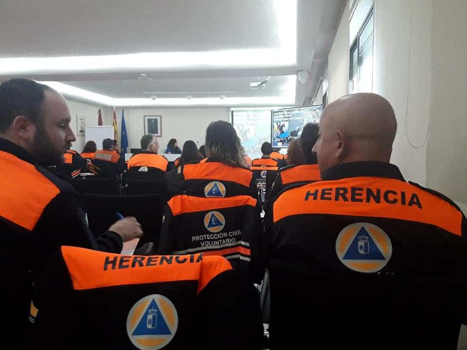 Protección Civil se forma en la Escuela de Protección Ciudadana en Toledo 1