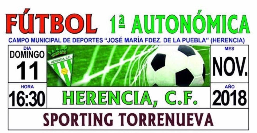 futbol primera autonomica herencia sporting torrenueva 1068x552 - Herencia C.F se enfrentará en casa al Sporting Torrenueva