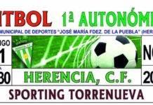 Herencia C.F se enfrentará en casa al Sporting Torrenueva