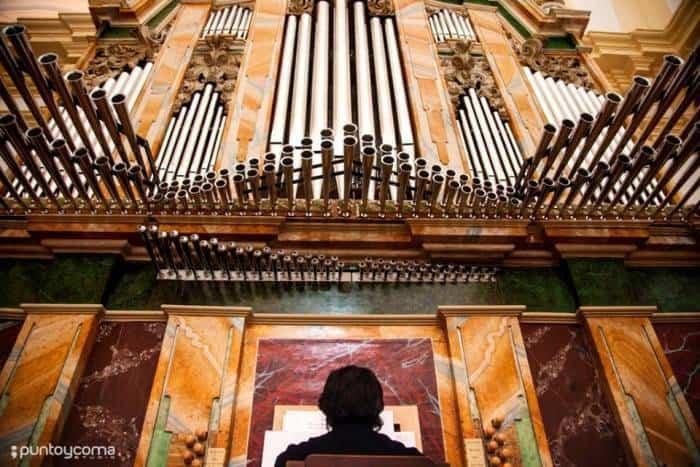 organo barroco de herencia - Concierto aniversario de la reconstrucción y restauración del órgano barroco de Herencia