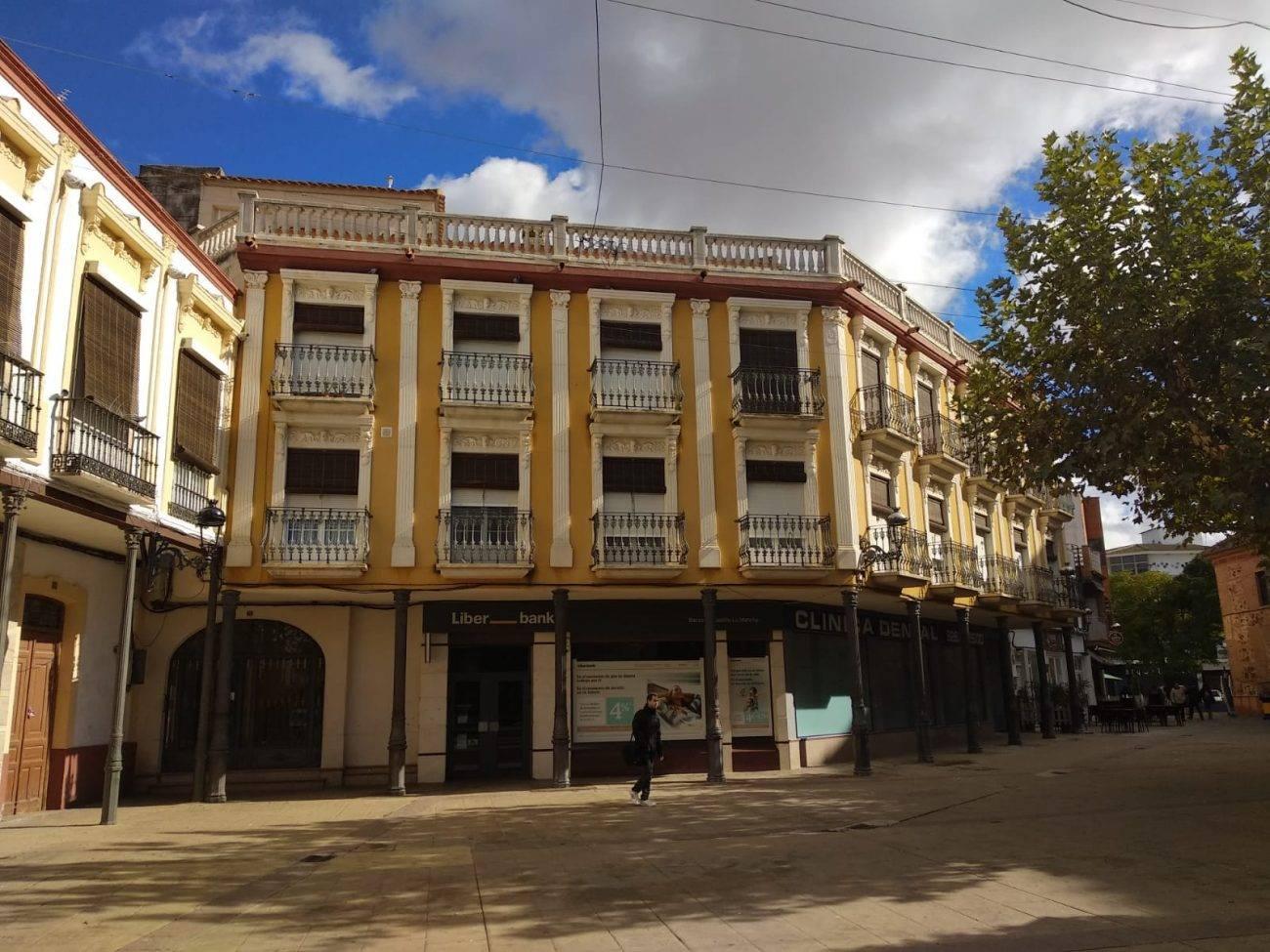 plaza de España de Herencia - Adjudicadas las obras de remodelación de la Plaza de España