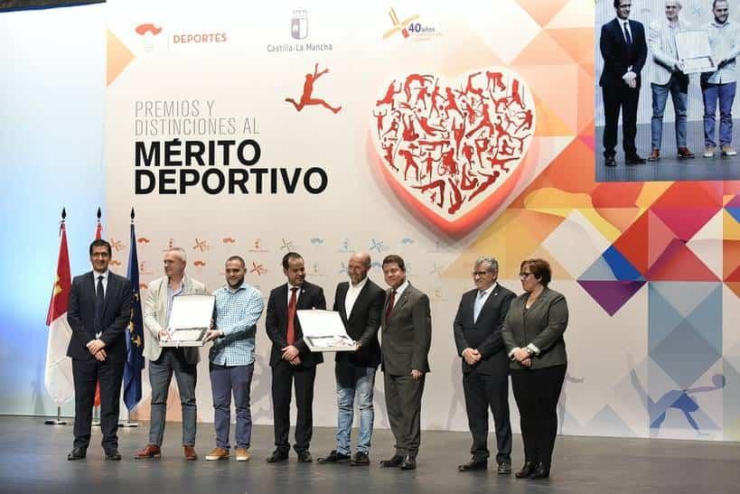 Herencia acoge la Gala de los Premios y Distinciones al Mérito Deportivo de Castilla-La Mancha 17