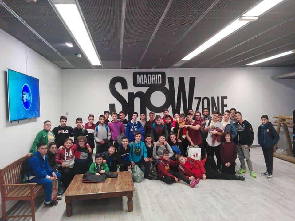 Alumnos del seminario menor mercedario en Madrid1 - El Seminario Menor Mercedario de excursión en el museo del Prado