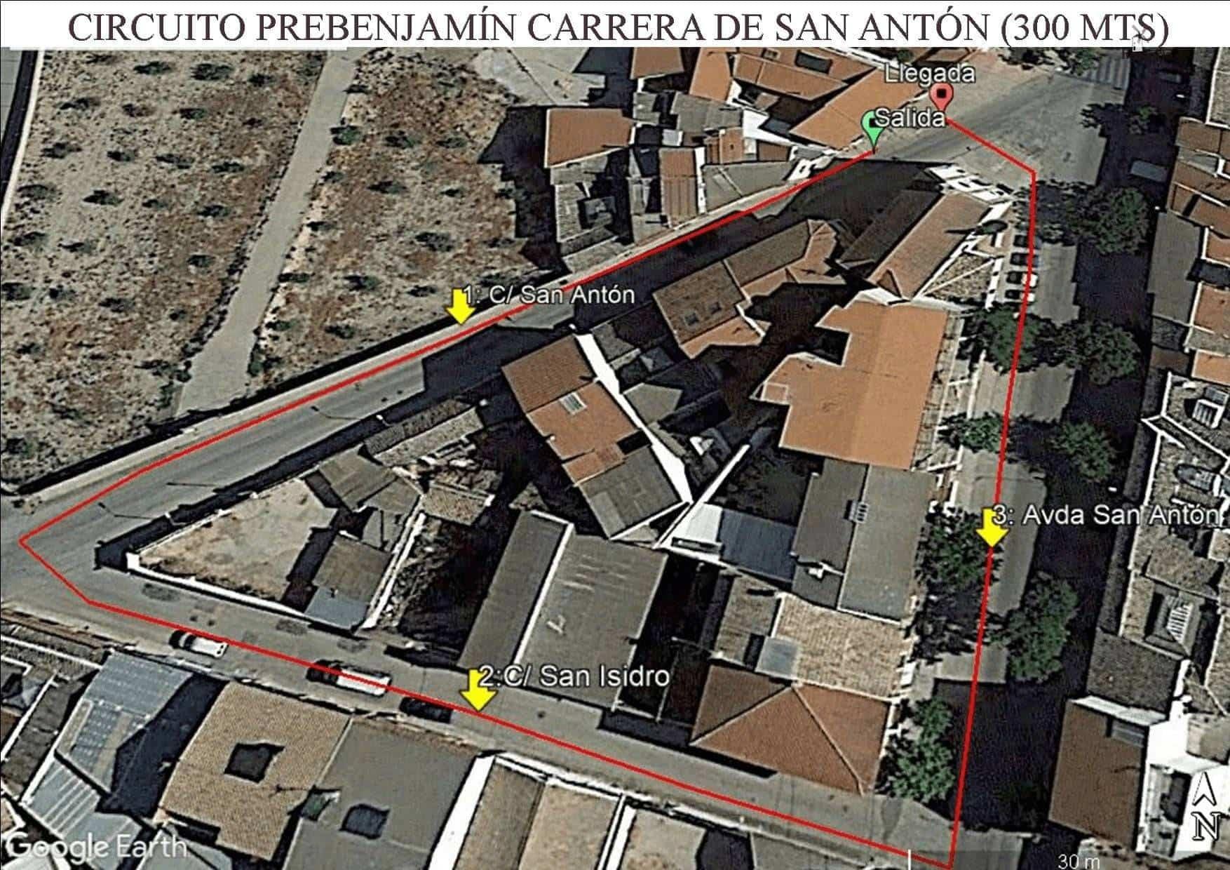 Circuito Prebenjamin CPSA - XVIII Carrera popular de San Antón contra el cáncer