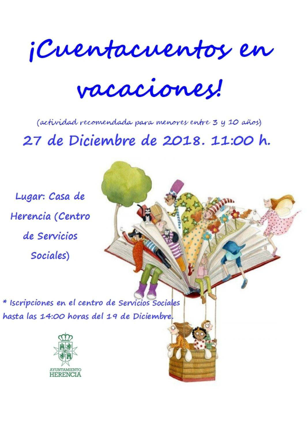 Cuentacuentos en la Casa de Herencia el 27 de diciembre 4