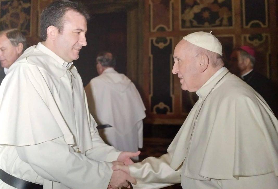 Luis Callejas presente en la audiencia del Papa con los mercedarios con motivo de la celebración de su jubileo 7