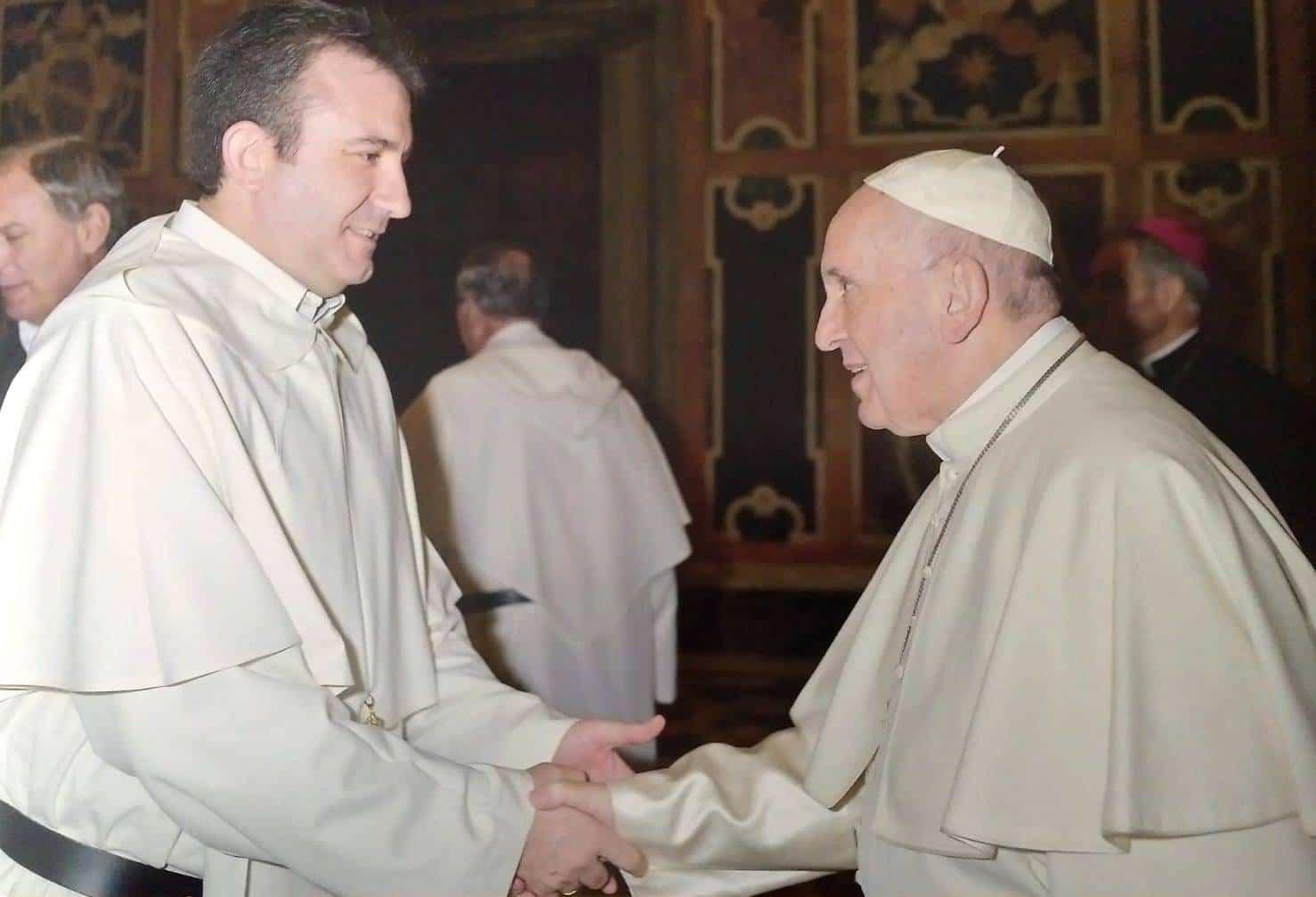 Luis Callejas presente en la audiencia del Papa con los mercedarios con motivo de la celebración de su jubileo 5