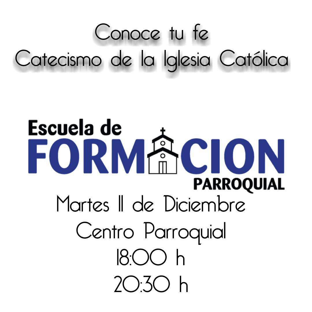 Escuela de formaci%C3%B3n parroquial - Retiro arciprestal de adviento y otras actividades parroquiales