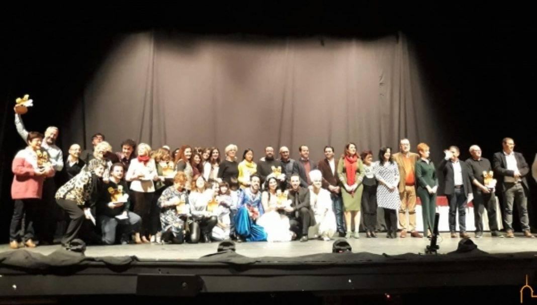 Galardonados en la XXVIII Muestra Provincial de Teatro celebrada en Herencia 1068x607 - Entregados en el Auditorio Municipal de Herencia los premios de la XXVIII Muestra Provincial de Teatro de la Diputación