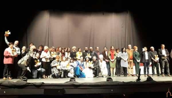 Galardonados en la XXVIII Muestra Provincial de Teatro celebrada en Herencia - Entregados en el Auditorio Municipal de Herencia los premios de la XXVIII Muestra Provincial de Teatro de la Diputación