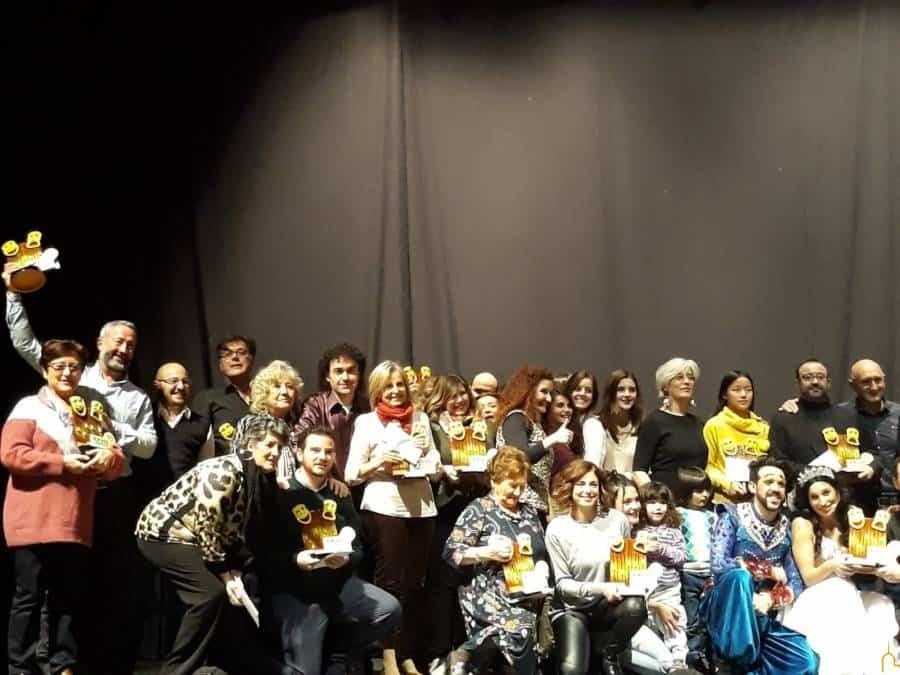 Galardonados en la XXVIII Muestra Provincial de Teatro celebrada en Herencia1 - Entregados en el Auditorio Municipal de Herencia los premios de la XXVIII Muestra Provincial de Teatro de la Diputación