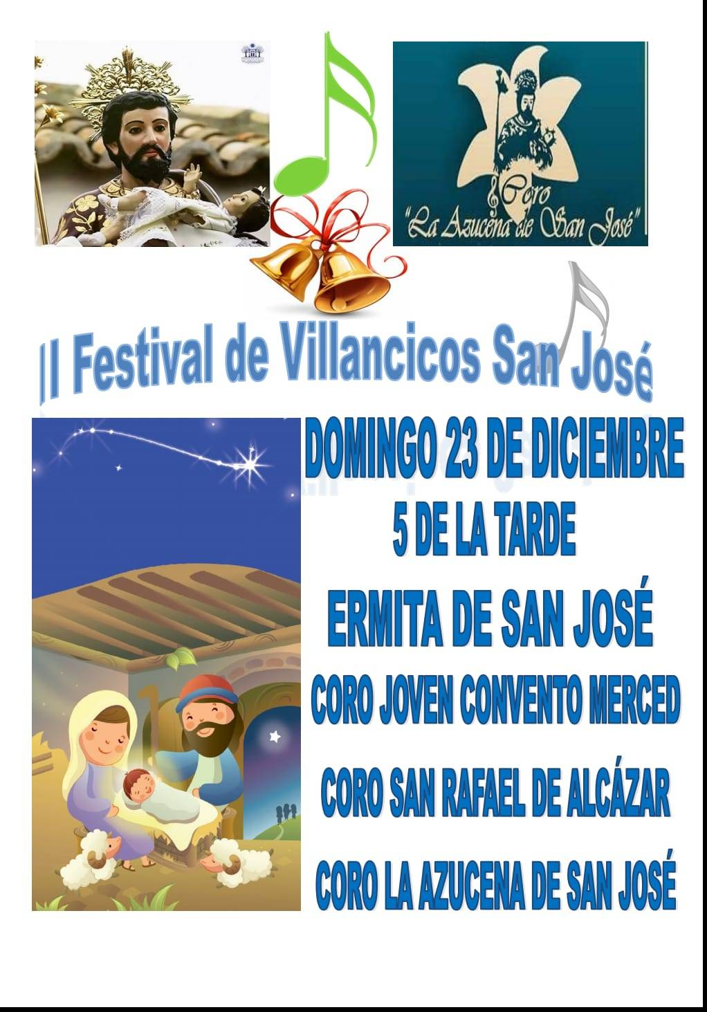 II Festival de Villancicos de San Jos%C3%A9 - Segundo Festival de Villancicos San José