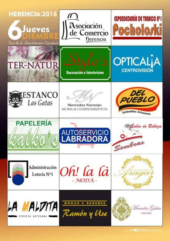 Mercadillo de comerciantes y artesanos de Herencia - Mercadillos de comerciantes y artesanos durante el 6 de diciembre