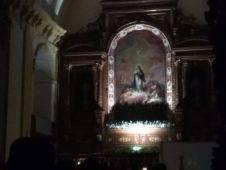 Vigilia Inmaculada Concepción Herencia1 226x170 - Imágenes de la Vigilia de la Inmaculada Concepción en Herencia