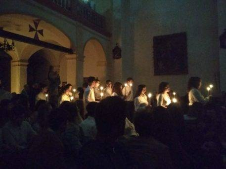Vigilia Inmaculada Concepción Herencia5 457x343 - Imágenes de la Vigilia de la Inmaculada Concepción en Herencia