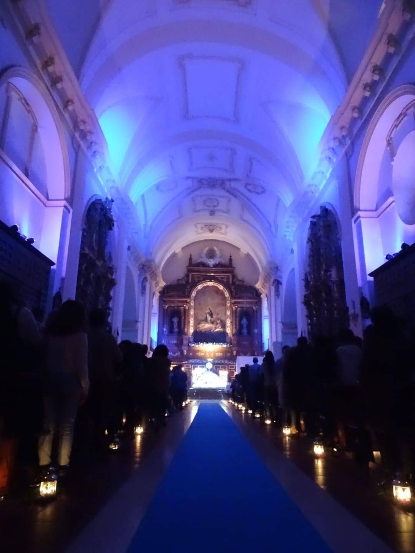 Imágenes de la Vigilia de la Inmaculada Concepción en Herencia 5