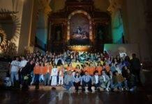 Imágenes de la Vigilia de la Inmaculada Concepción en Herencia