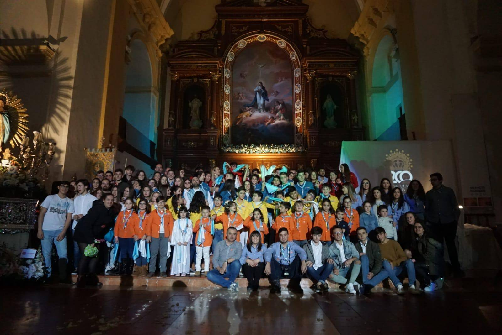 Imágenes de la Vigilia de la Inmaculada Concepción en Herencia 6