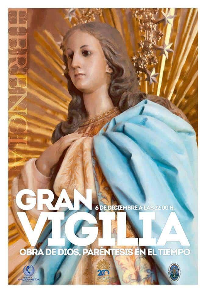 """Vigilia de la Inmaculada en Herencia 2018 - """"Obra de Dios"""". Vigilia de la Inmaculada 2018"""
