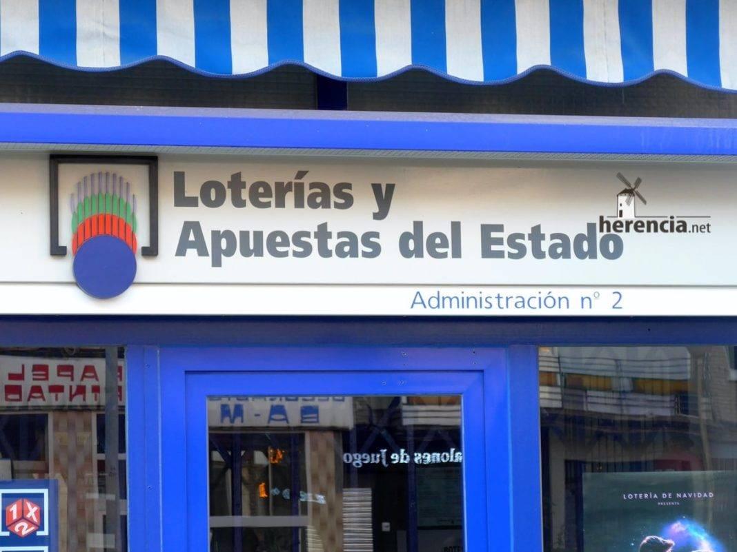 administracion de loterias y apuestas del estado 1068x801 - Un quinto premio de la lotería, el 29031, cae en Herencia
