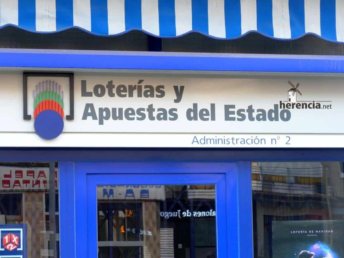 administracion de loterias y apuestas del estado - Un quinto premio de la lotería, el 29031, cae en Herencia