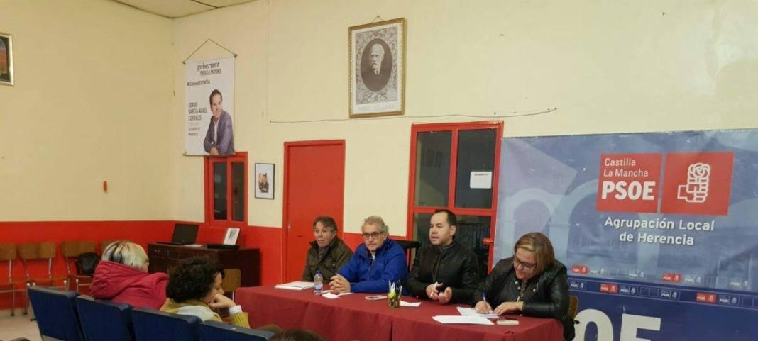 PSOE de Herencia celebra su última Asamblea del año 4