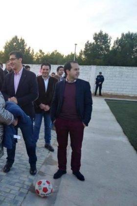 campo futbol herencia nuevo cesped 10 280x420 - Diputación de Ciudad Real equipa y amplia el campo de fútbol de Herencia