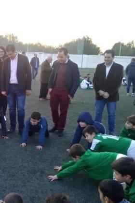 campo futbol herencia nuevo cesped 11 280x420 - Diputación de Ciudad Real equipa y amplia el campo de fútbol de Herencia
