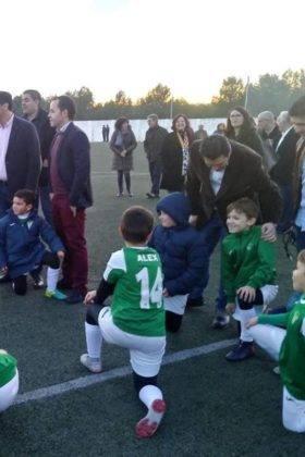 campo futbol herencia nuevo cesped 3 280x420 - Diputación de Ciudad Real equipa y amplia el campo de fútbol de Herencia
