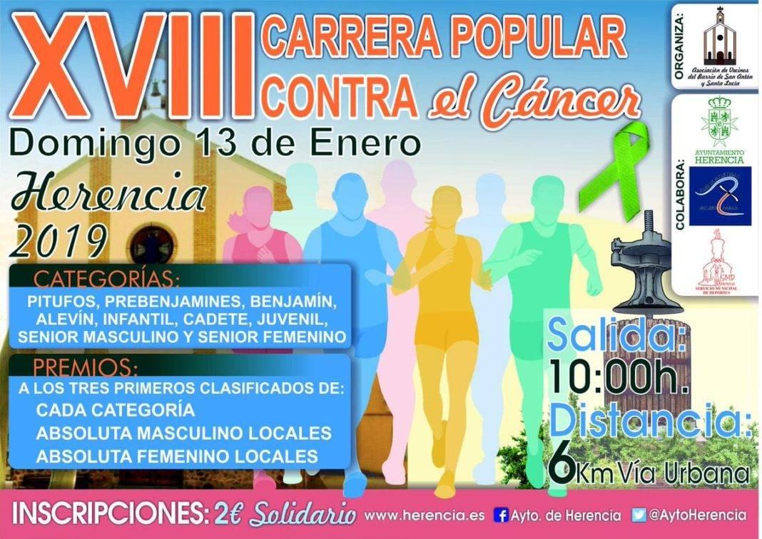 carrera popular san anton herencia 2019 1068x756 - XVIII Carrera popular de San Antón contra el cáncer