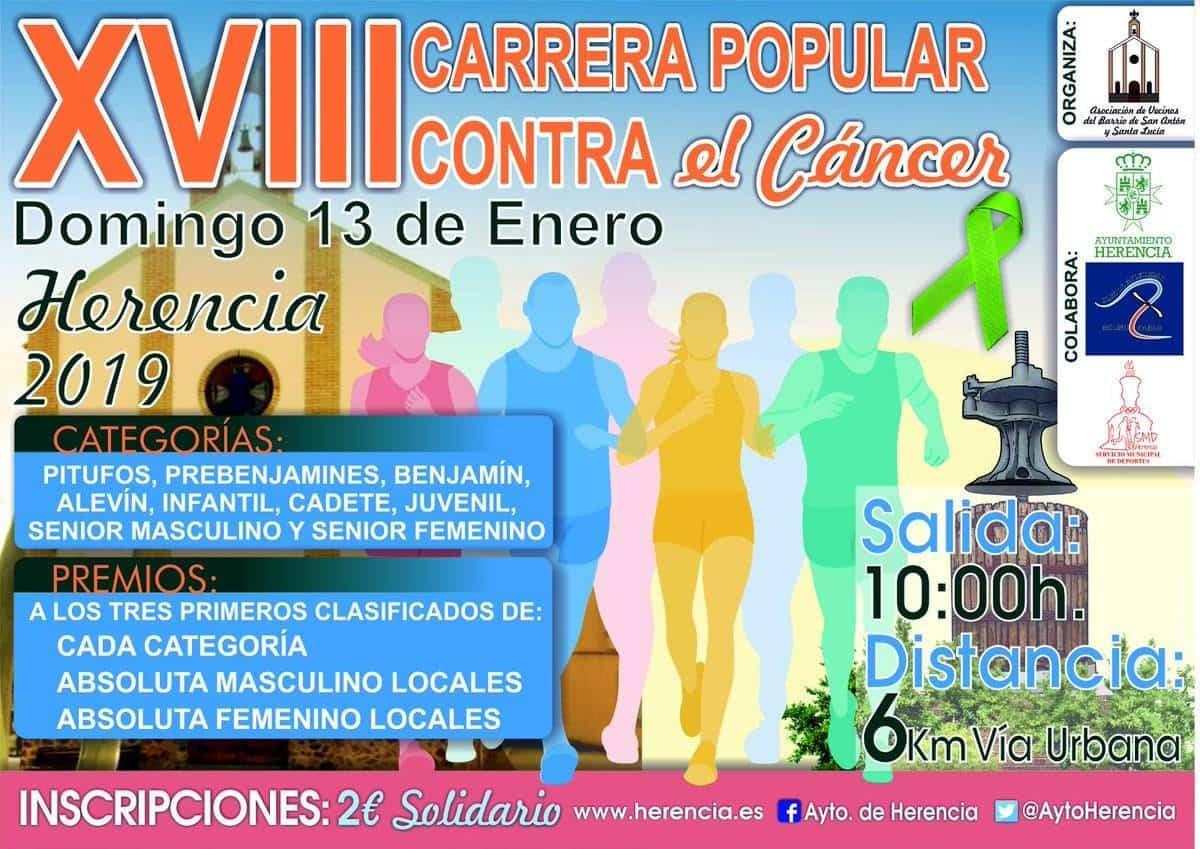 carrera popular san anton herencia 2019 - XVIII Carrera popular de San Antón contra el cáncer