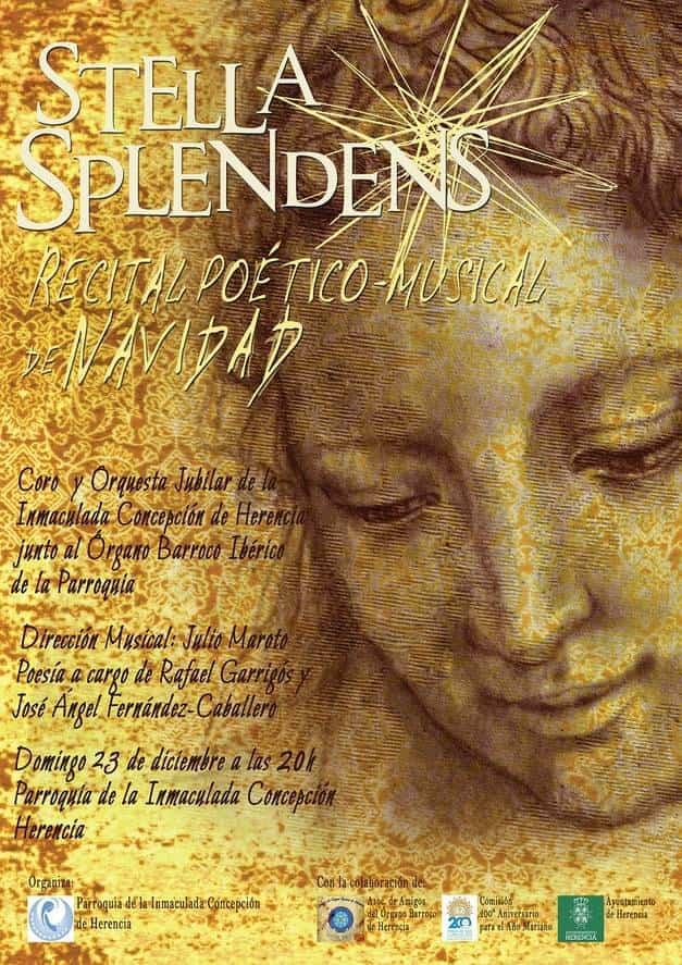 La parroquia organiza un recital poético-musical de Navidad el domingo 23 3
