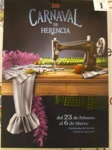 carteles carnaval de herencia 2019 eleccion 1