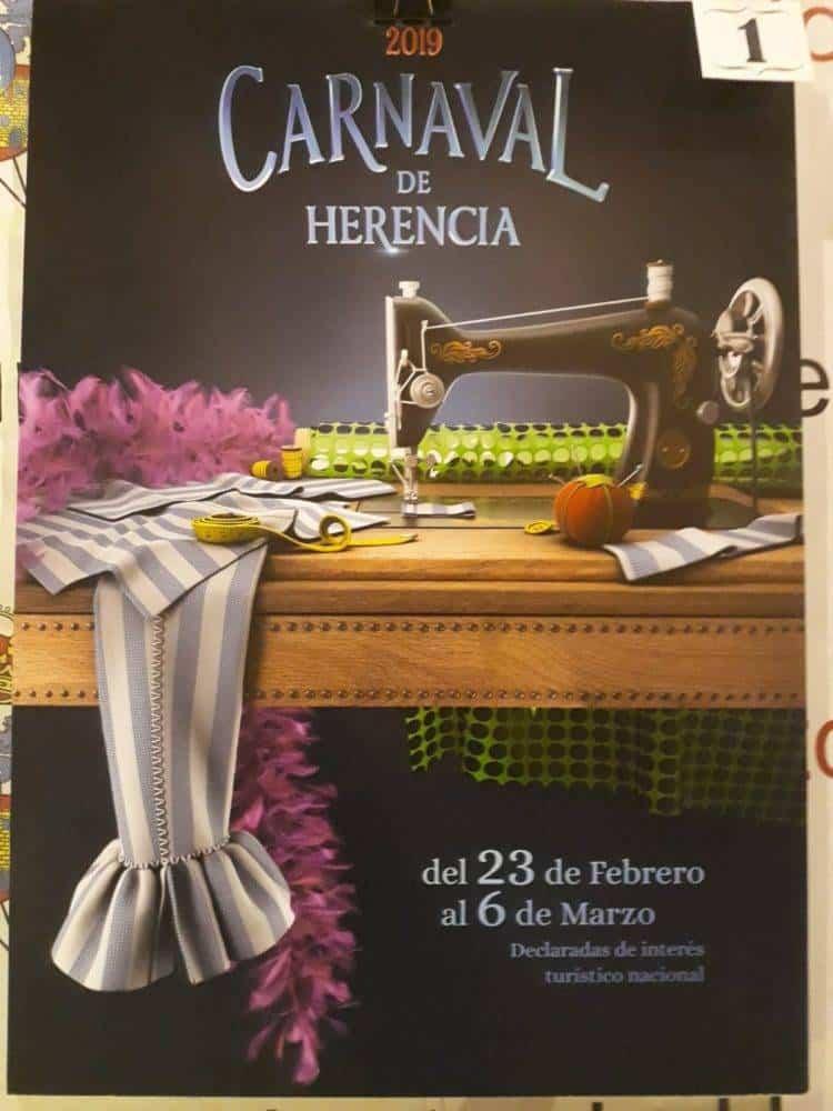 Elige el cartel de Carnaval de Herencia 2019 que más te gusta... 5