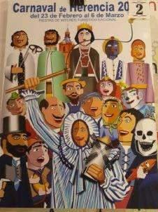carteles carnaval de herencia 2019 eleccion 2 226x302 - Elige el cartel de Carnaval de Herencia 2019 que más te gusta...