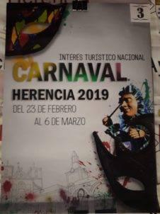carteles carnaval de herencia 2019 eleccion 3 226x302 - Elige el cartel de Carnaval de Herencia 2019 que más te gusta...