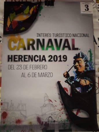 carteles carnaval de herencia 2019 eleccion 3 342x455 - Elige el cartel de Carnaval de Herencia 2019 que más te gusta...
