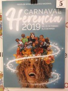 carteles carnaval de herencia 2019 eleccion 5