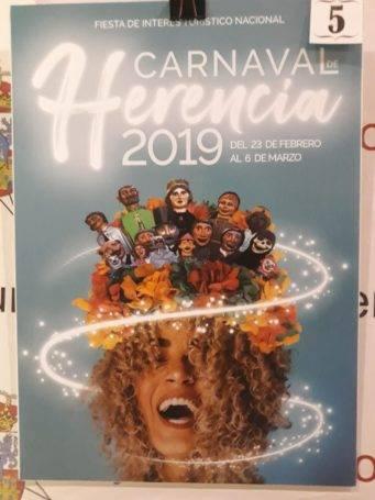 carteles carnaval de herencia 2019 eleccion 5 341x455 - Elige el cartel de Carnaval de Herencia 2019 que más te gusta...