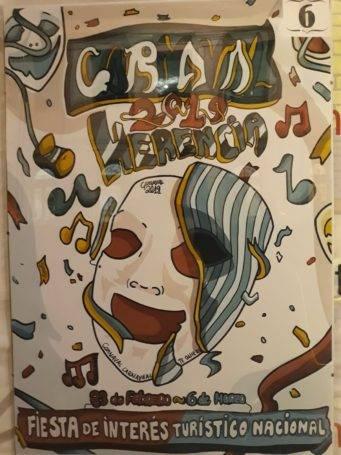 carteles carnaval de herencia 2019 eleccion 6 341x455 - Elige el cartel de Carnaval de Herencia 2019 que más te gusta...