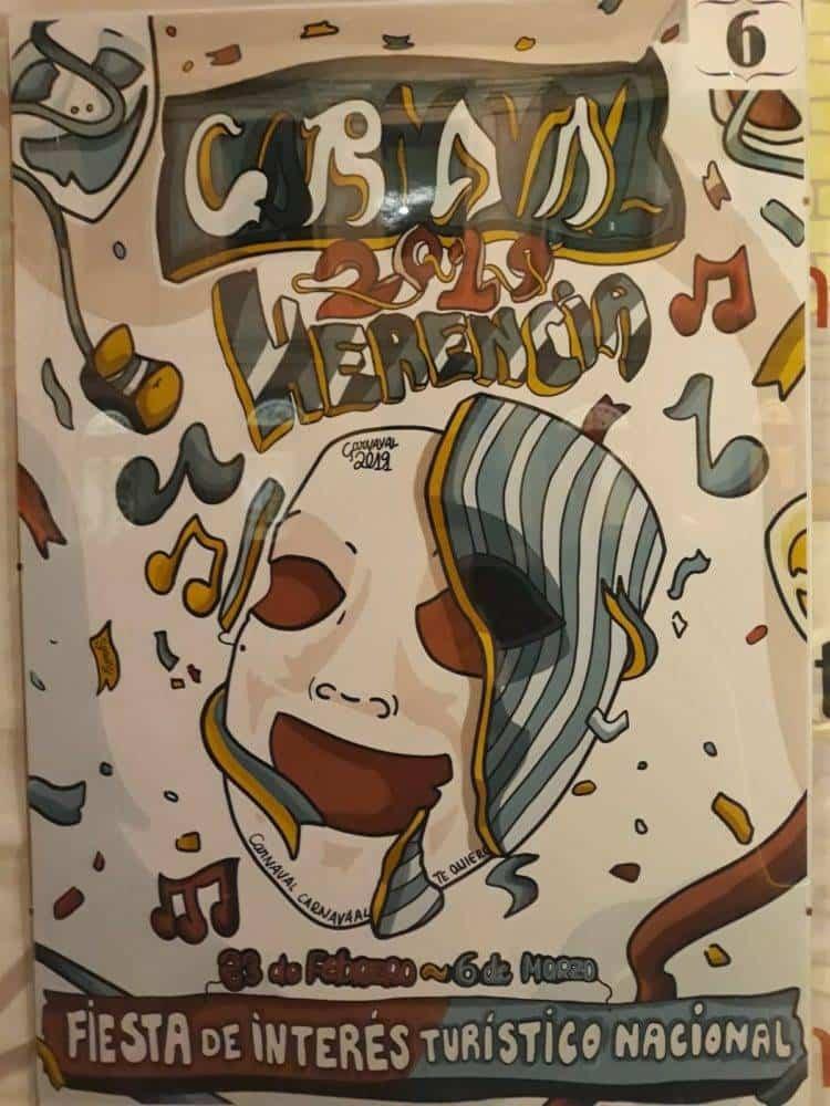 Elige el cartel de Carnaval de Herencia 2019 que más te gusta... 1