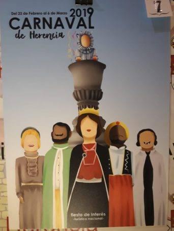 carteles carnaval de herencia 2019 eleccion 7 342x455 - Elige el cartel de Carnaval de Herencia 2019 que más te gusta...