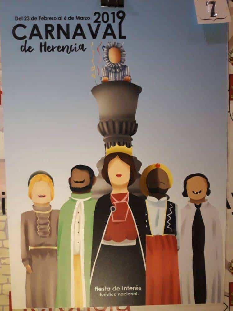 Elige el cartel de Carnaval de Herencia 2019 que más te gusta... 4