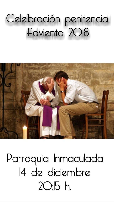 celebración penitencial de adviento - Retiro arciprestal de adviento y otras actividades parroquiales