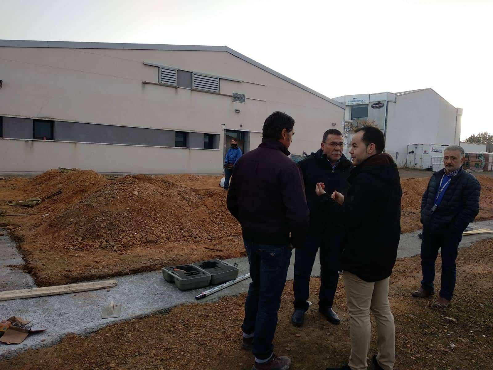 centro de autonomos herencia ciudad real 1 - Avances en las obras del Centro de Emprendedores de Herencia