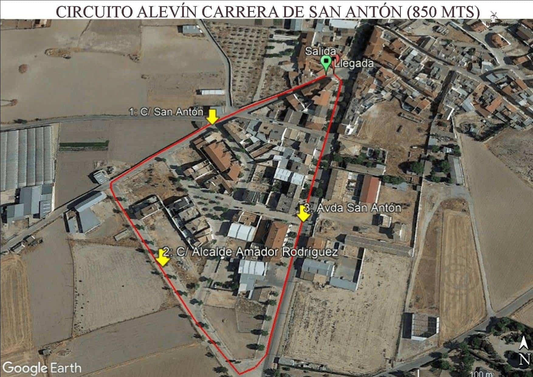 circuito Alevin CPSA - XVIII Carrera popular de San Antón contra el cáncer