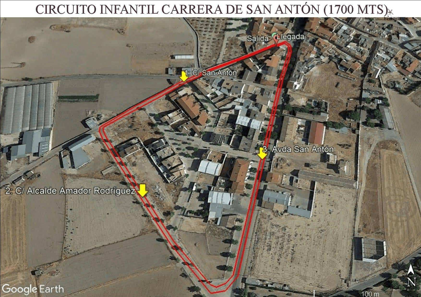circuito Infantil CPSA - XVIII Carrera popular de San Antón contra el cáncer