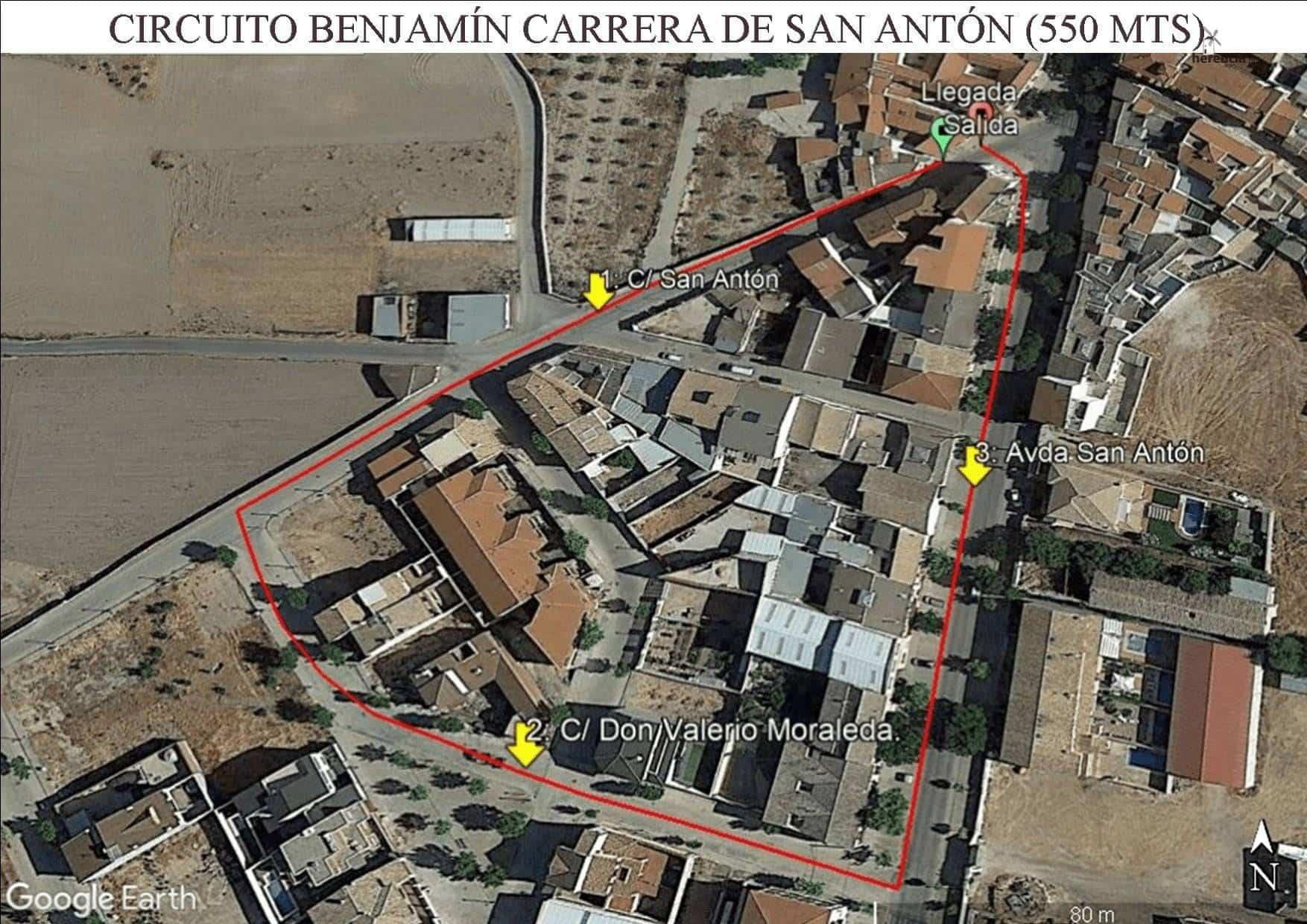 circuito benjamin CPSA - XVIII Carrera popular de San Antón contra el cáncer