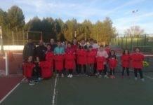 Comienzo de la competición Interescuelas de tenis y pádel