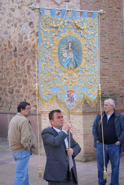 dia de inmaculada concepcion patrona herencia 11 419x626 - Fotografías de la procesión del día dedicado a María Inmaculada en Herencia
